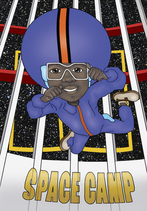 Amir at Space Camp