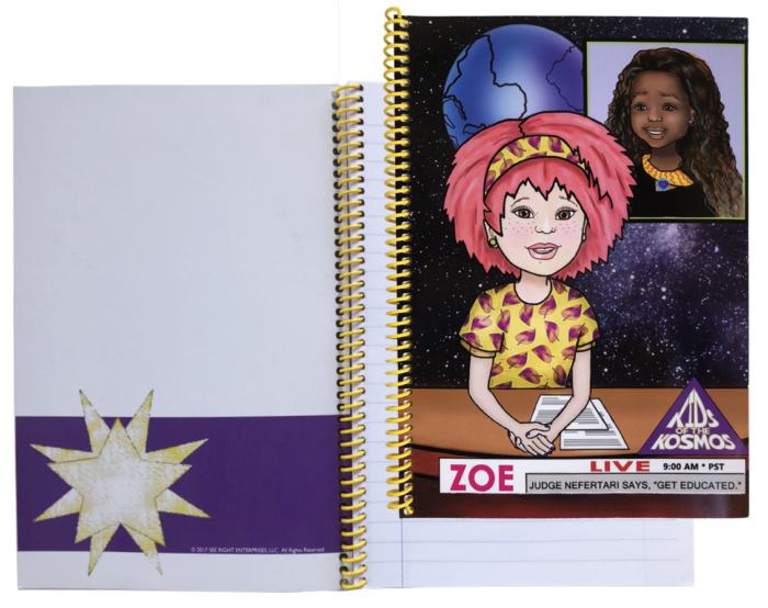 Judge Nefertari and Reporter Zoe Journal